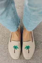 Soludos Palm Tree Platforms - Side cropped