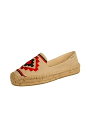 Soludos Sand Flat Espadrille - Front cropped
