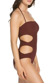 Soluna Textured 1pc Bandeau - Side cropped