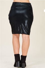 Solution Black Pencil Skirt - Side cropped