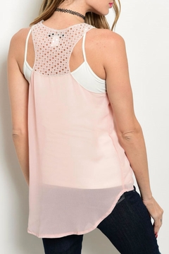 Solution Blush Detail Tank - Alternate List Image