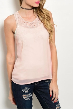 Solution Blush Detail Tank - Product List Image