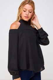 Solution Cold Shoulder Top - Product Mini Image