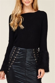 Solution Faux Fur Sweater - Product Mini Image