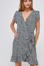 Solution Floral Wrap Dress - Product Mini Image