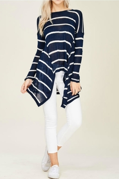 Solution Navy Stripe Top - Product List Image