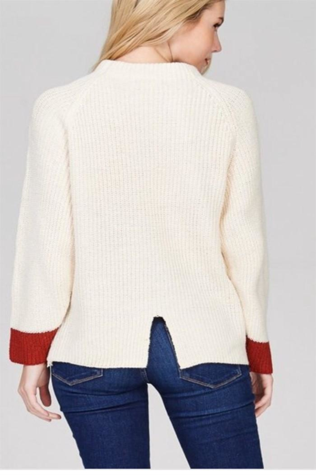 Solution Pullover Sweater - Side Cropped Image