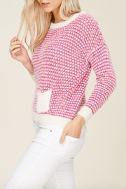 Solution Soft Knit Heart-Sweater - Front full body