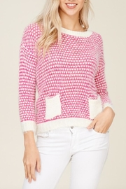 Solution Soft Knit Heart-Sweater - Product Mini Image