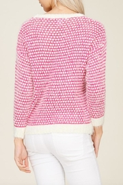 Solution Soft Knit Heart-Sweater - Side cropped