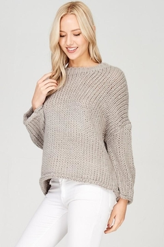 Solutions Cozy Chunky Sweater - Product List Image