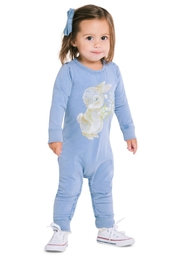 Rock Your Baby Some Bunny Playsuit - Front cropped