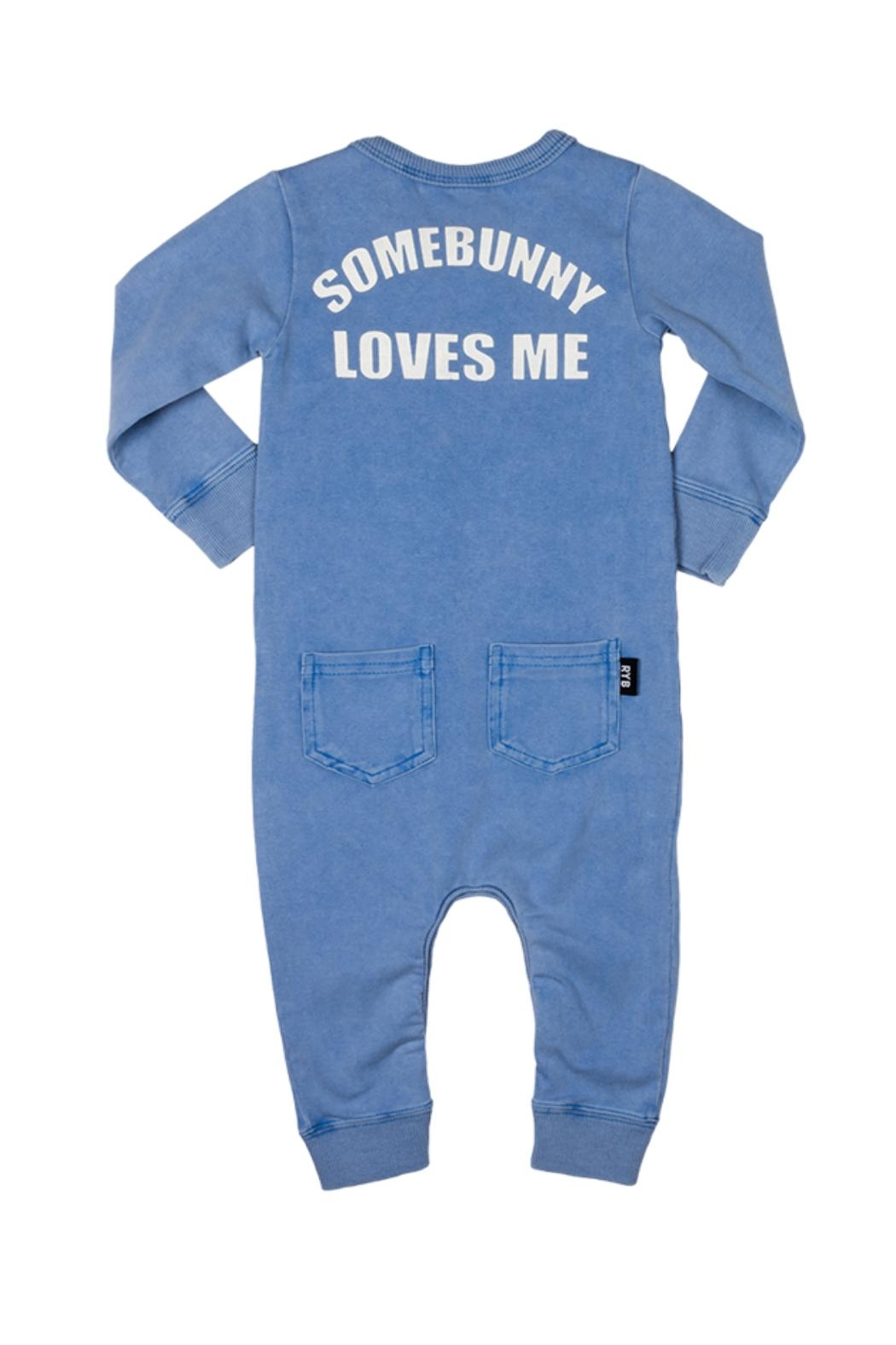 Rock Your Baby Some Bunny Playsuit - Side Cropped Image