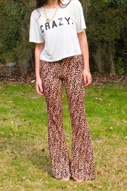 Some Days Lovin Flower Bell Bottoms - Product Mini Image