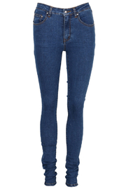 Some Days Lovin Moss Denim Monroe Jeans - Front full body