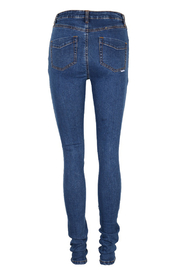 Some Days Lovin Moss Denim Monroe Jeans - Product Mini Image