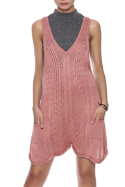 Somedays Lovin Charlotte Knit Playsuit - Product Mini Image
