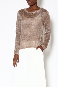 Shoptiques Product: Metallic Knit Sweater