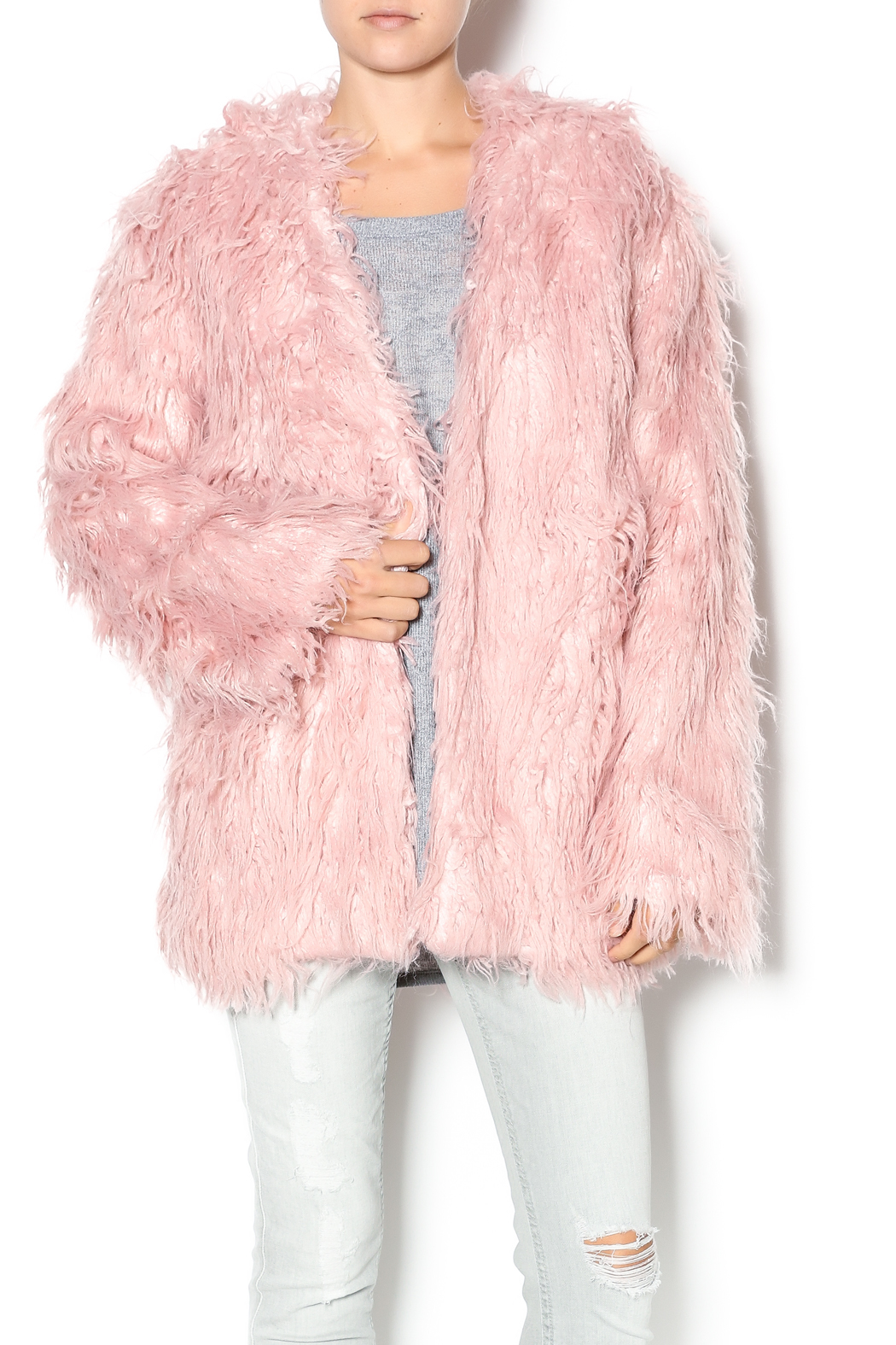 Somedays Lovin Sacred Faux Fur Coat from New Jersey by Two ...