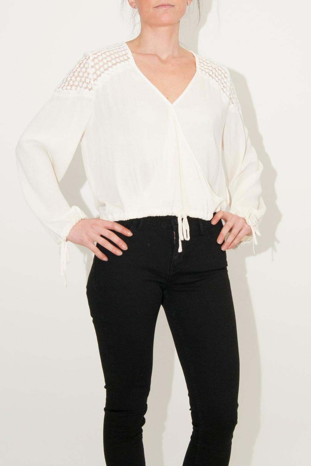 Somedays Lovin Eldora Cropped Blouse - Main Image