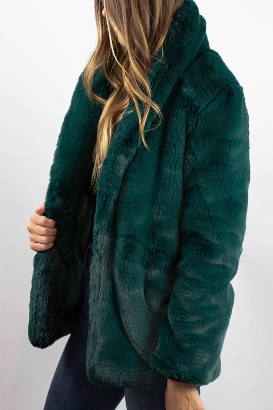 Somedays Lovin Emerald Dreaming Coat - Side Cropped Image