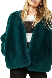 Somedays Lovin Emerald Dreaming Coat - Front full body
