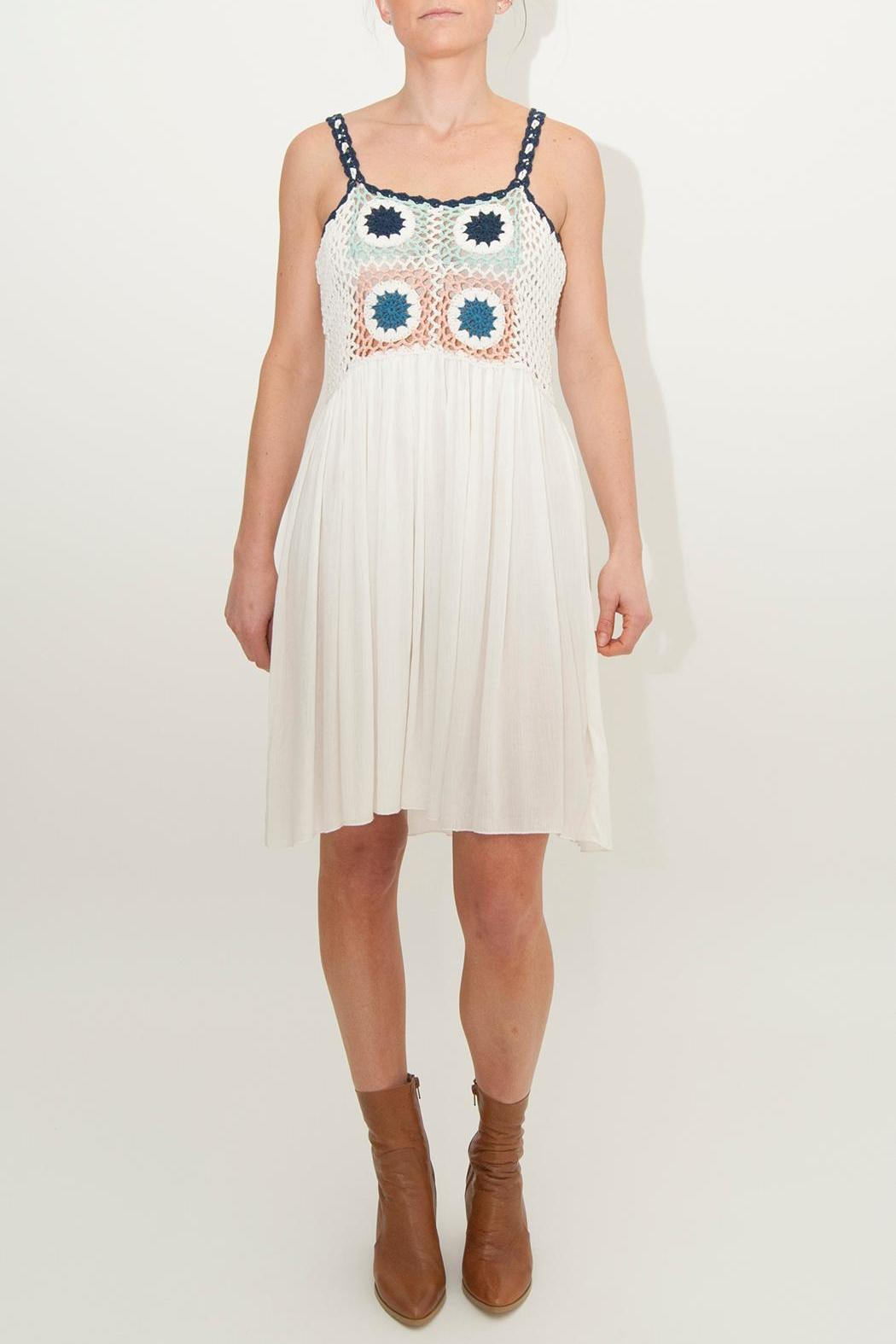 Somedays Lovin Tilda Crochet Smock-Dress - Main Image