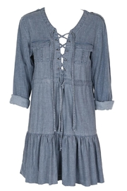 Somedays Lovin Undercover Denim Dress - Product Mini Image