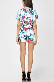 Adelyn Rae Somers Wrap Romper - Front full body