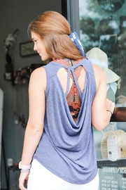 She + Sky Something About You Tank - Front cropped