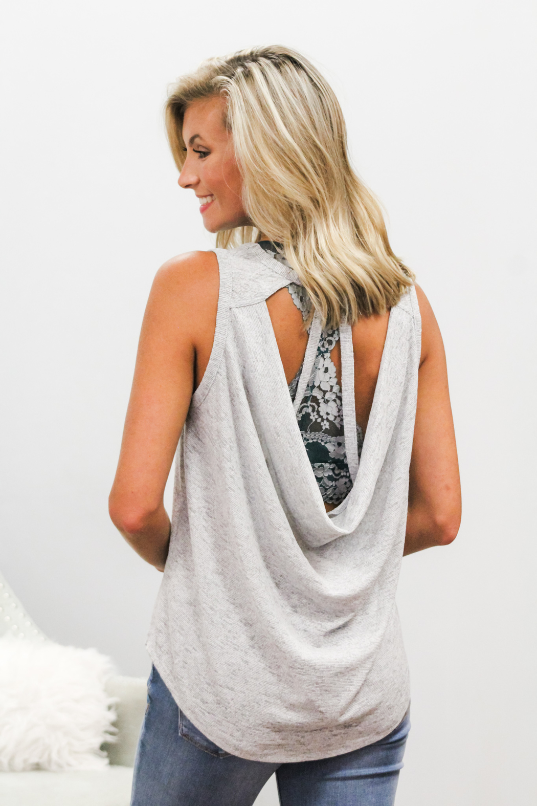 She + Sky Something About You Tank - Front Full Image