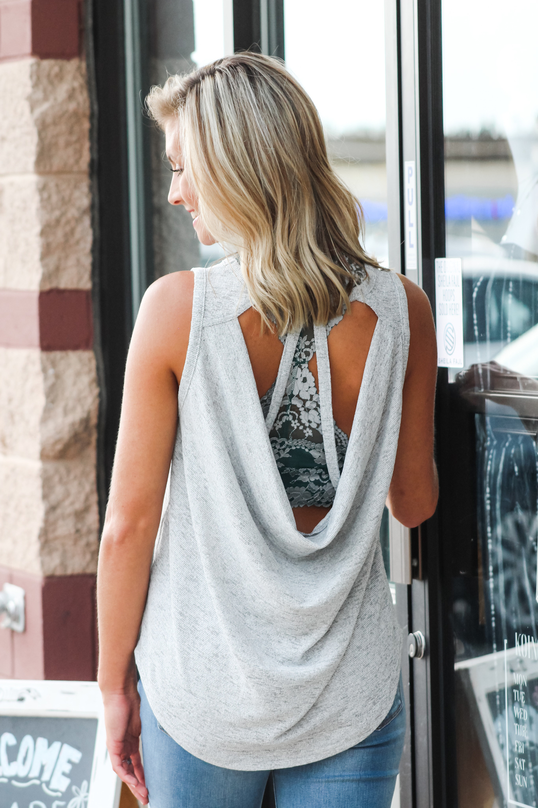 She + Sky Something About You Tank - Main Image