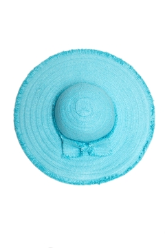 Something Special Bow Straw Hat - Product List Image