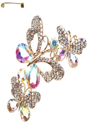 Something Special Butterfly Stone Brooch - Product Mini Image