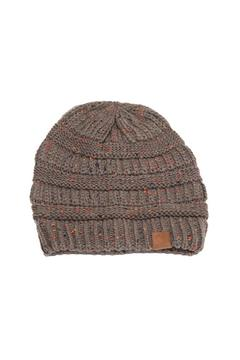 Something Special Drew Beanie Charcoal - Alternate List Image