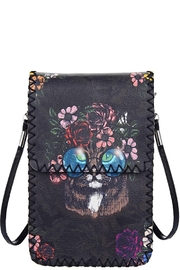 Something Special Floral Cat Crossbody Bag - Product Mini Image
