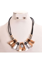 Something Special Mixed Metal Necklace Set - Front cropped