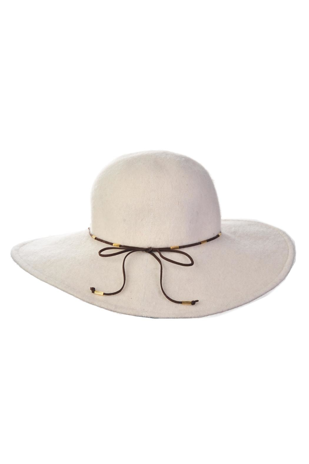 Something Special Mohair Wool Hat - Front Cropped Image