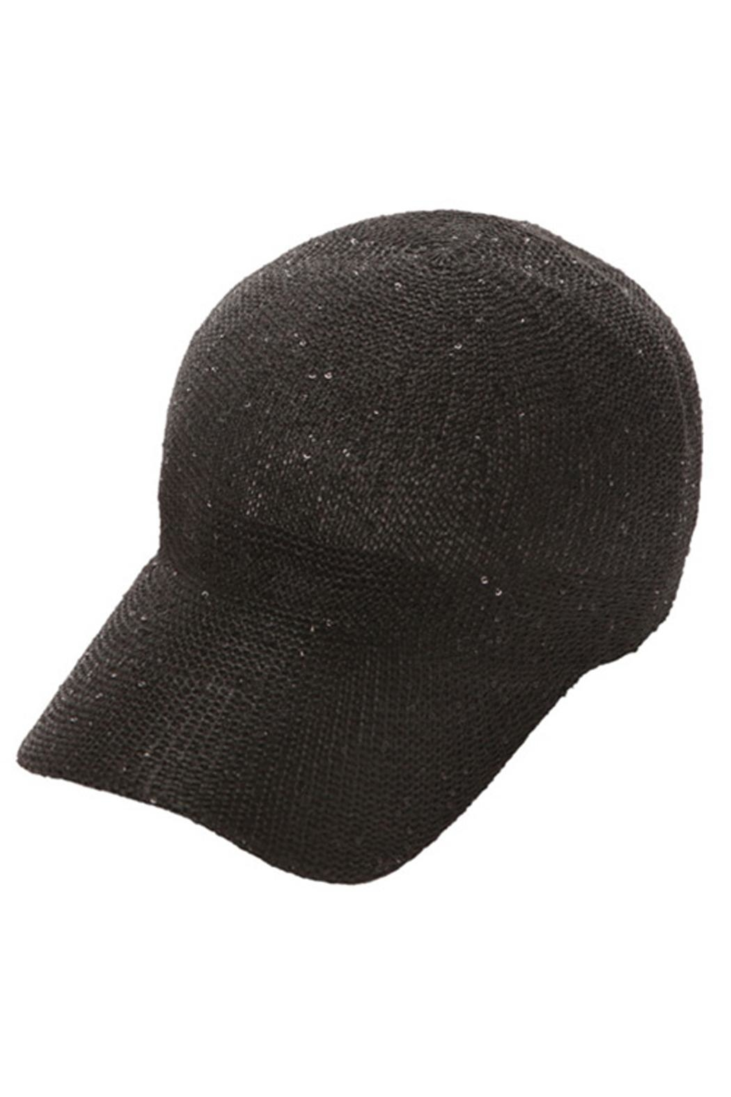 Something Special Sequin Knitted Baseball Hat - Main Image