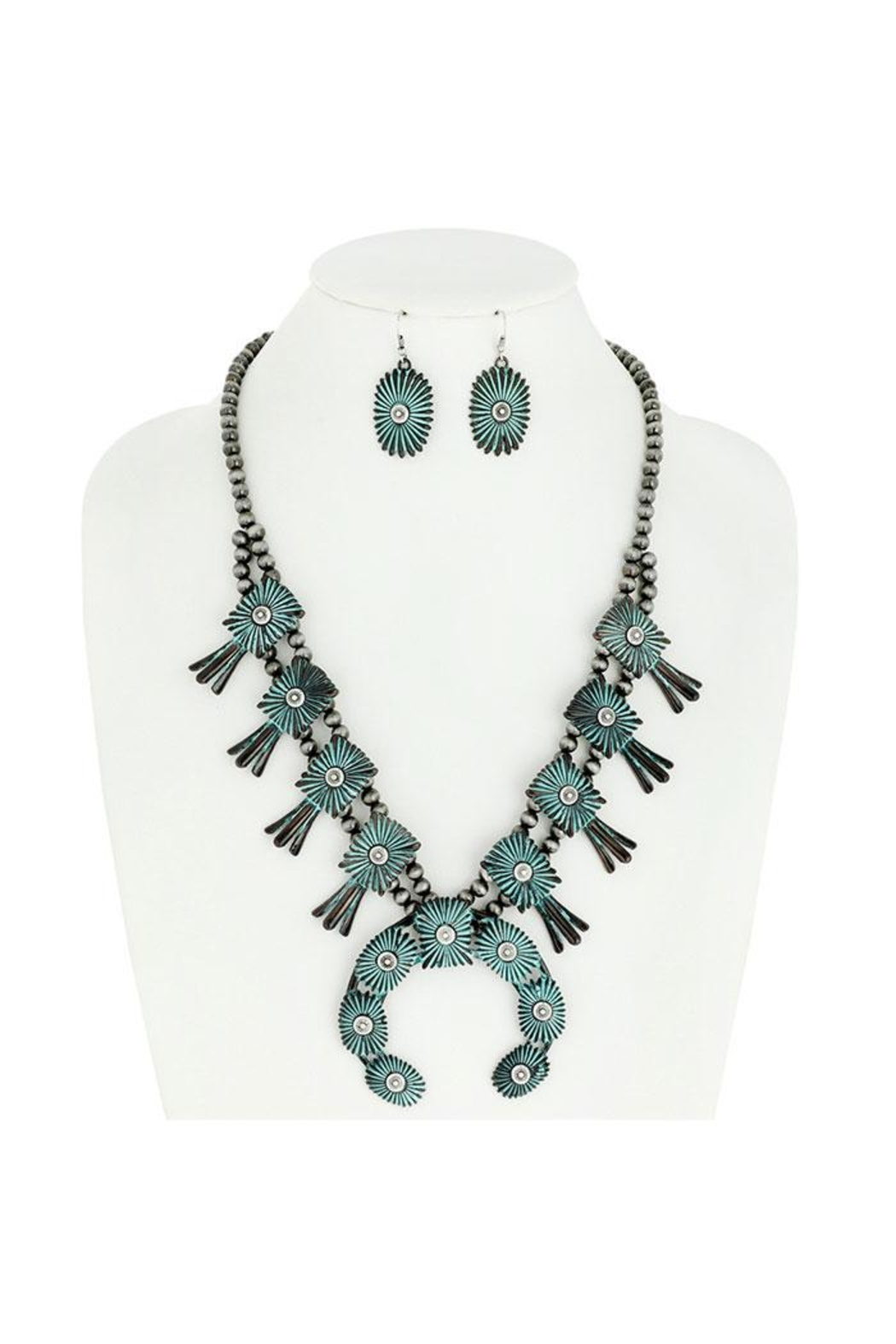 Something Special Squash Blossom Chunky Necklace Set - Main Image