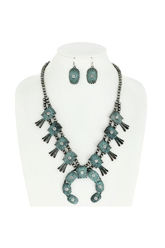 Something Special Squash Blossom Chunky Necklace Set - Alternate List Image