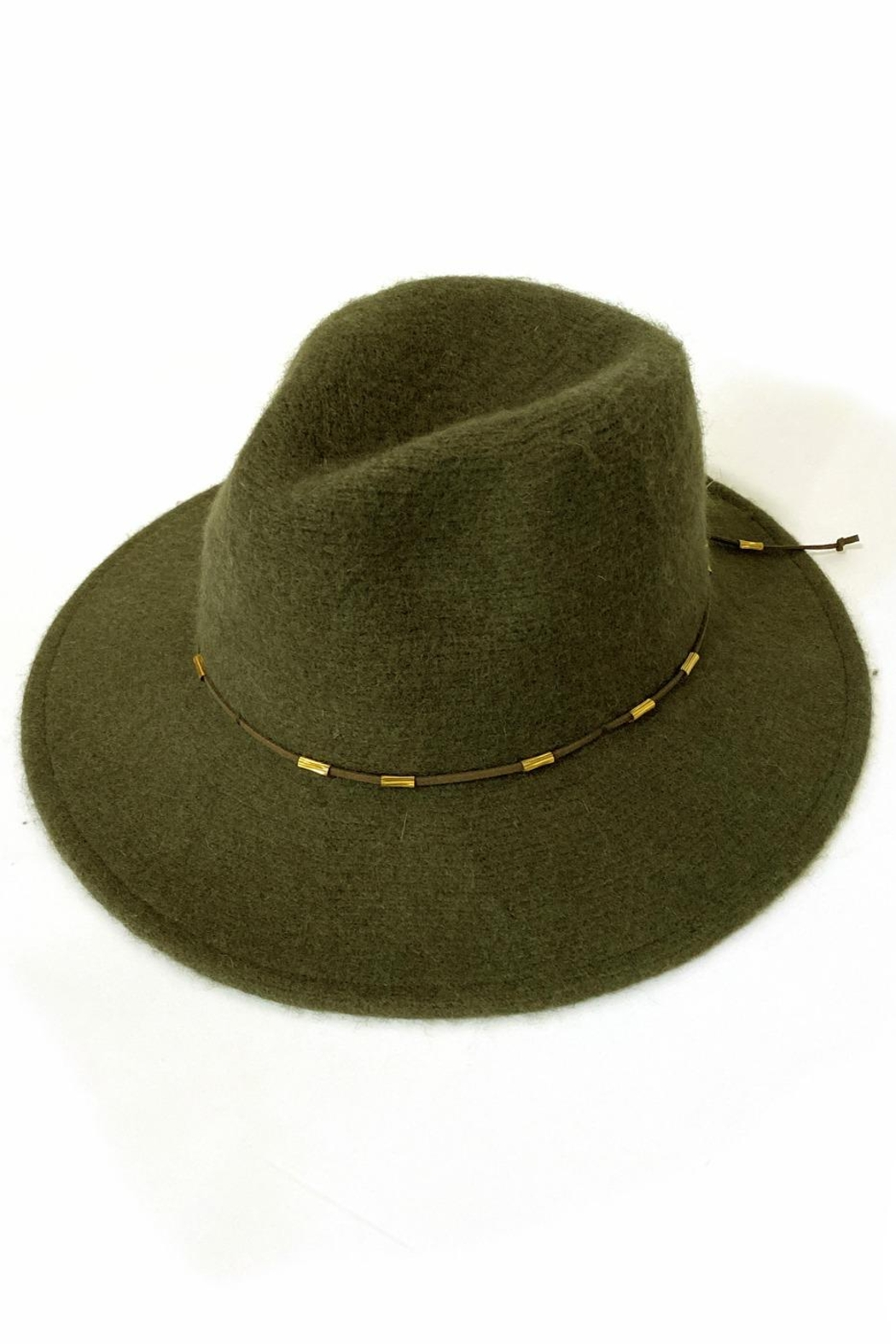Something Special Wool Panama Hat - Front Full Image