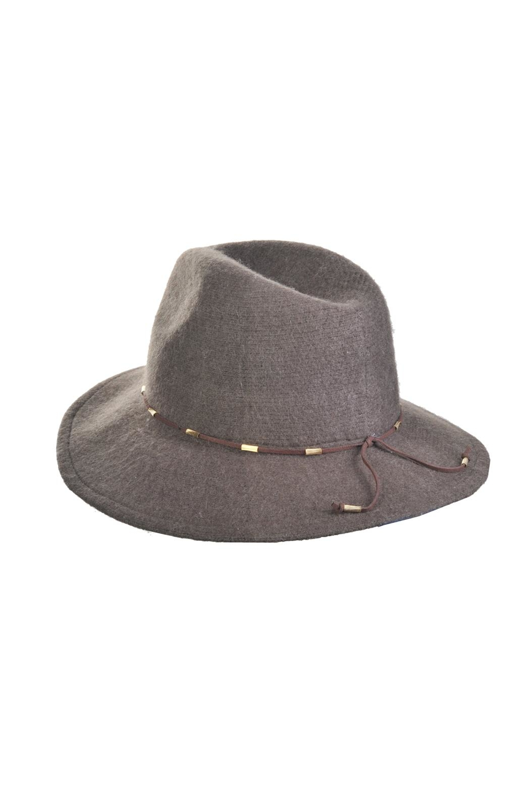 Something Special Wool Panama Hat - Front Cropped Image