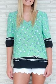 Something Urban Anchors Away Top - Product Mini Image