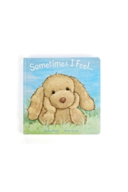 Jellycat Sometimes I Feel... - Front cropped