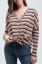 Blu Pepper Somewhere-Over The-Rainbow Top - Front cropped