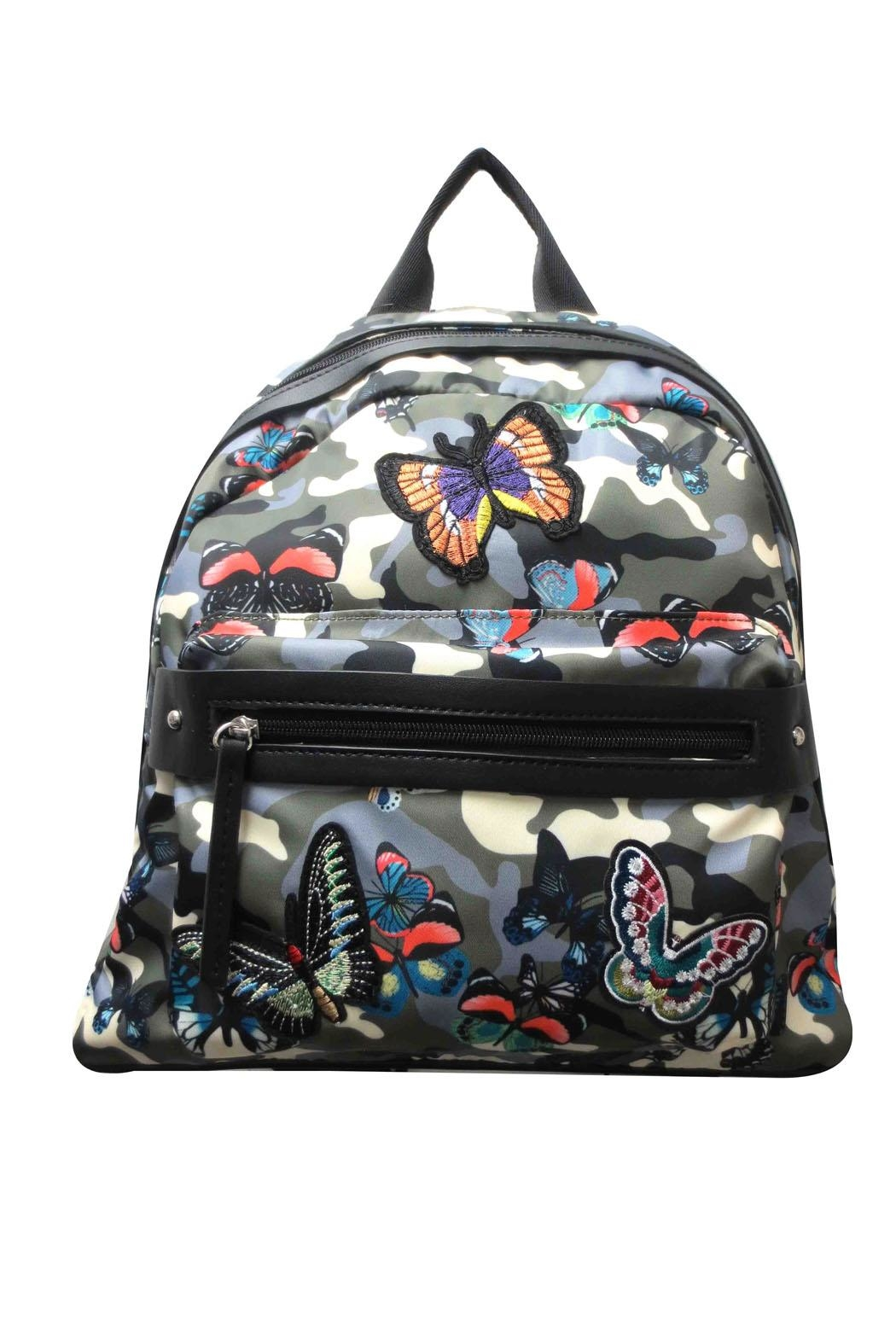 Sondra Roberts Camo Butterfly Backpack - Main Image