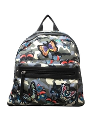 Sondra Roberts Camo Butterfly Backpack - Front cropped