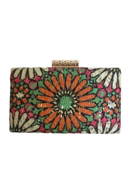 Sondra Roberts Daisy Floral Clutch - Product Mini Image