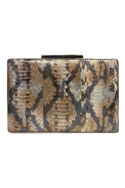 Sondra Roberts Gold-Plated Box Clutch - Product Mini Image